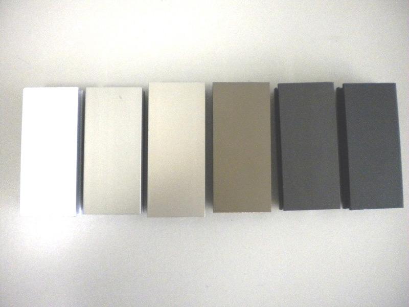 Aluminium eloxalfarben